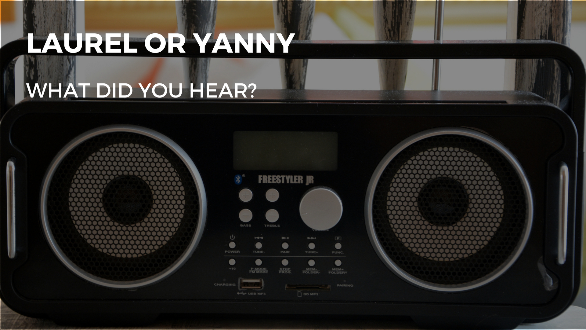 What did you hear? Yanny or Laurel