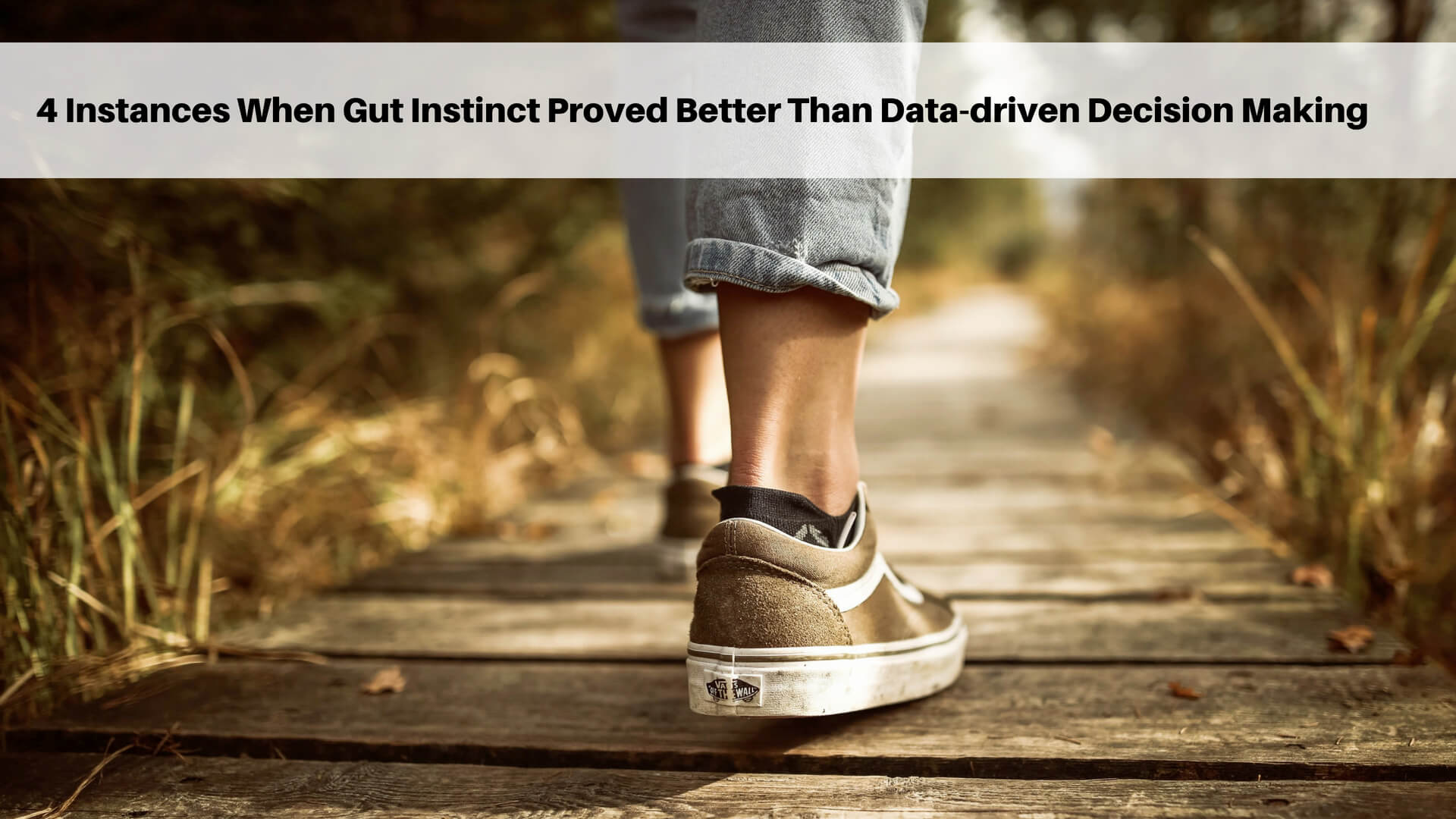 4 Instances When Gut Instinct Proved Better Than Data-Driven Decisions